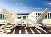 "Deck Chairs by Doug Cavanah - 36"" x 26"""