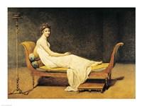 Madame Recamier, 1800 Fine Art Print