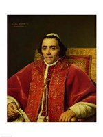 Portrait of Pope Pius VII Fine Art Print
