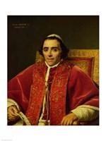 Portrait of Pope Pius VII Fine Art Print