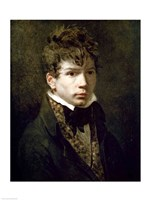 Portrait of the Young Ingres Fine Art Print