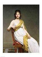 Portrait of Madame Raymond de Verninac Fine Art Print
