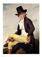 Portrait of Pierre Seriziat Fine Art Print
