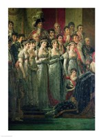 The Consecration of the Emperor Napoleon Fine Art Print