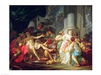 The Death of Seneca, 1773 Fine Art Print