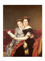 Zenaide and Charlotte Fine Art Print