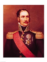Portrait of Prince Eugene de Beauharnais Fine Art Print