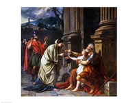 Belisarius Begging for Alms, 1781 Fine Art Print