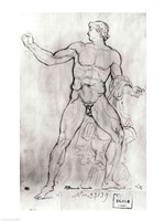 Colossus of Monte Cavallo by Jacques-Louis David - various sizes