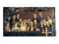 The Consecration of the Emperor Napoleon and the Coronation of the Empress Josephine, Crowd Detail Fine Art Print