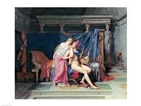 Paris and Helen Fine Art Print