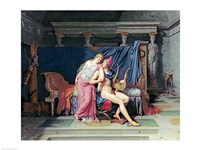 Paris and Helen by Jacques-Louis David - various sizes, FulcrumGallery.com brand