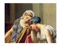 The Oath of Horatii, 1784 Fine Art Print