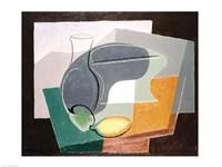 Fruit-dish and carafe, 1927 by Juan Gris, 1927 - various sizes