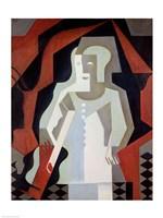 Pierrot, 1919 Fine Art Print