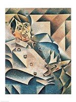Portrait of Pablo Picasso Fine Art Print