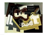 Guitar and Clarinet, 1920 Fine Art Print