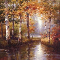 Forest Lake Fine Art Print