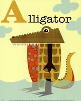 Alligator Fine Art Print