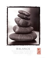Balance - Rocks Fine Art Print