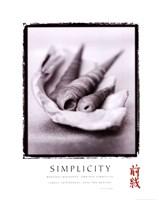 """Simplicity - Shells - 22"""" x 28"""""""