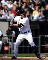 Paul Konerko 2011 Action Framed Print