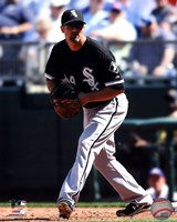 Paul Konerko 2011 Action Fine Art Print