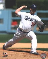 Chad Billingsley 2011 Action Fine Art Print