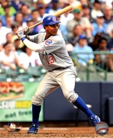 Starlin Castro 2011 Action Fine Art Print