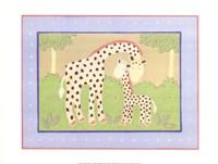 Giraffes Fine Art Print