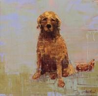 Golden Dog No. 2 Fine Art Print