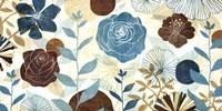 """Floral Burst by Mo Mullan - 40"""" x 20"""""""