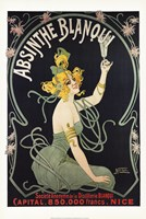 Absinthe Blanqui Framed Print