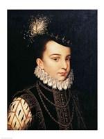 Portrait of Francois Hercule de France Duc d'Alencon Fine Art Print