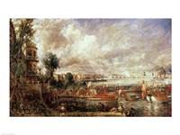 The Opening of Waterloo Bridge Fine Art Print