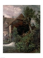 Watermill at Gillingham, Dorset Fine Art Print