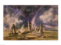 Stonehenge, 1835 by John Constable, 1835 - various sizes