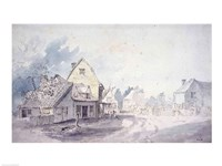 East Bergholt Street by John Constable - various sizes