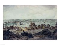 The Valley of the Stour, with Stratford St.Mary in the distance Fine Art Print