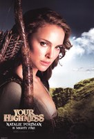 Your Highness - Natalie Portman Framed Print