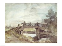 A Bridge Over the Stour Fine Art Print