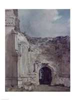 East Bergholt Church: North Archway of the Ruined Tower by John Constable - various sizes