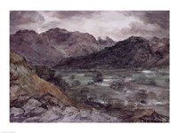 View in Borrowdale by John Constable - various sizes, FulcrumGallery.com brand