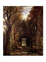 The Cenotaph to Reynold's Memory, Coleorton, 1833 by John Constable, 1833 - various sizes - $16.49