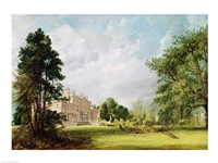 Malvern Hall, Warwickshire, 1821 by John Constable, 1821 - various sizes