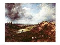 Branch Hill Pond, Hampstead Heath, 1828 Fine Art Print