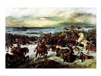 The Death of Charles the Bold at the Battle of Nancy by Eugene Delacroix - various sizes