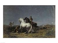 The Horse Thieves Fine Art Print