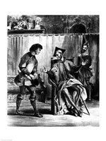 Mephistopheles and the Pupil, from Goethe's Faust Fine Art Print