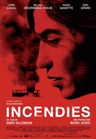 Incendies Wall Poster